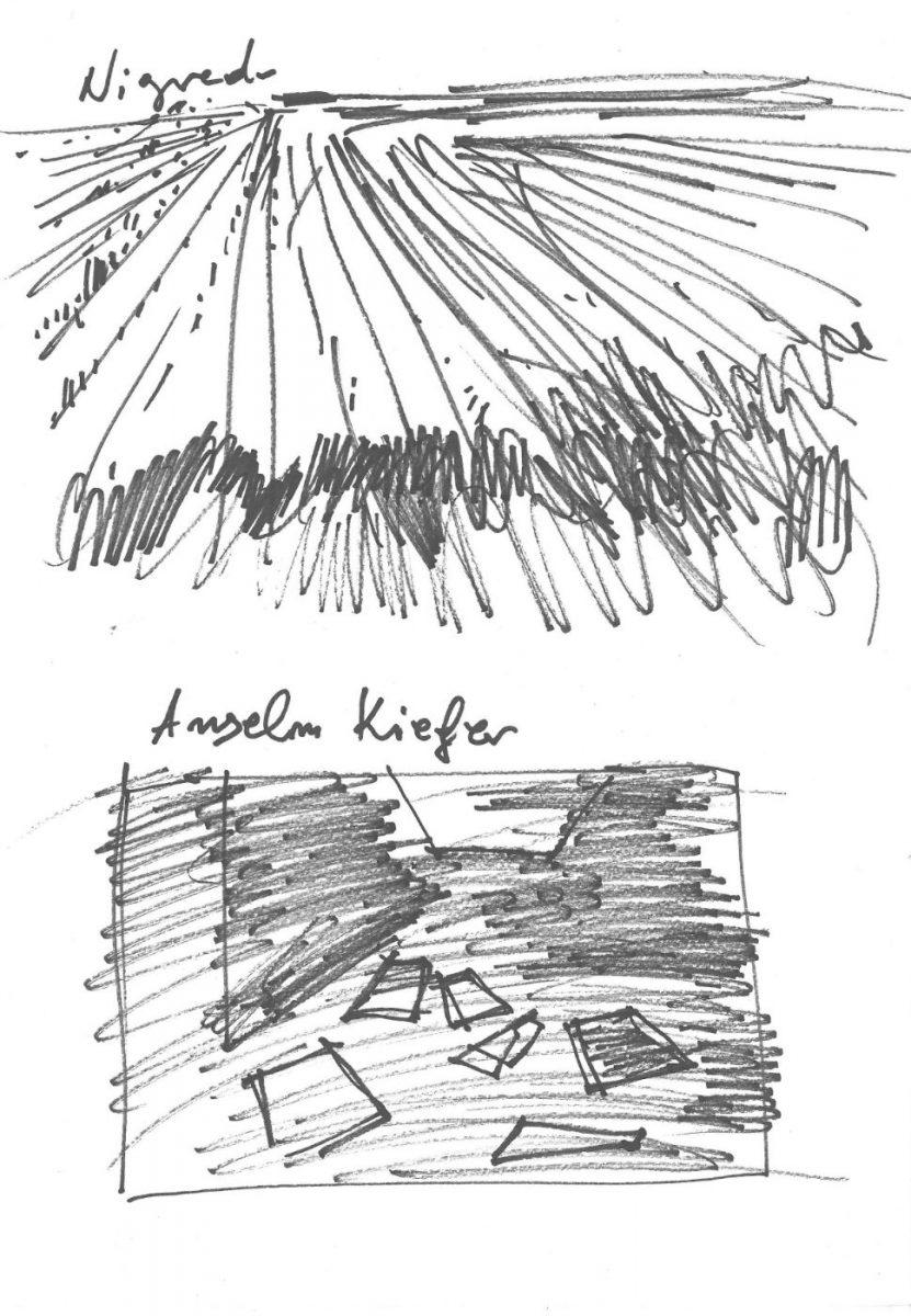 """Anselm Kiefer, """"Nigredo"""", 1984"""