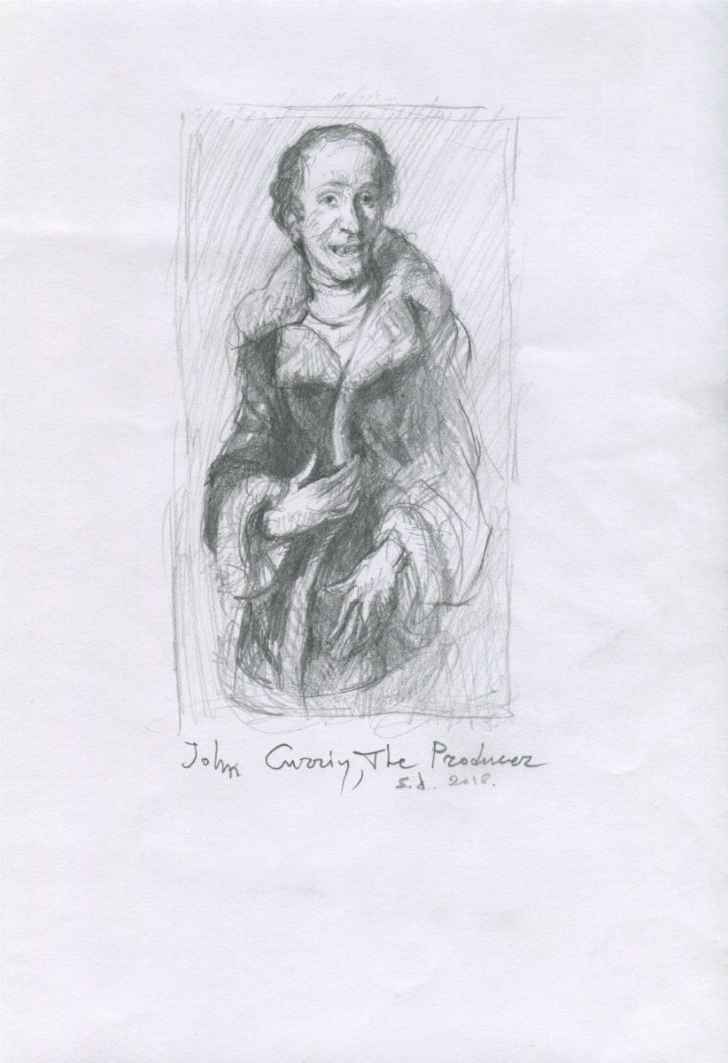 """John Currin, """"The Producer"""", 2002"""